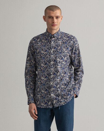 Regular fit Garden småmönstrad skjorta