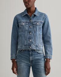 Indigo jeansjacka