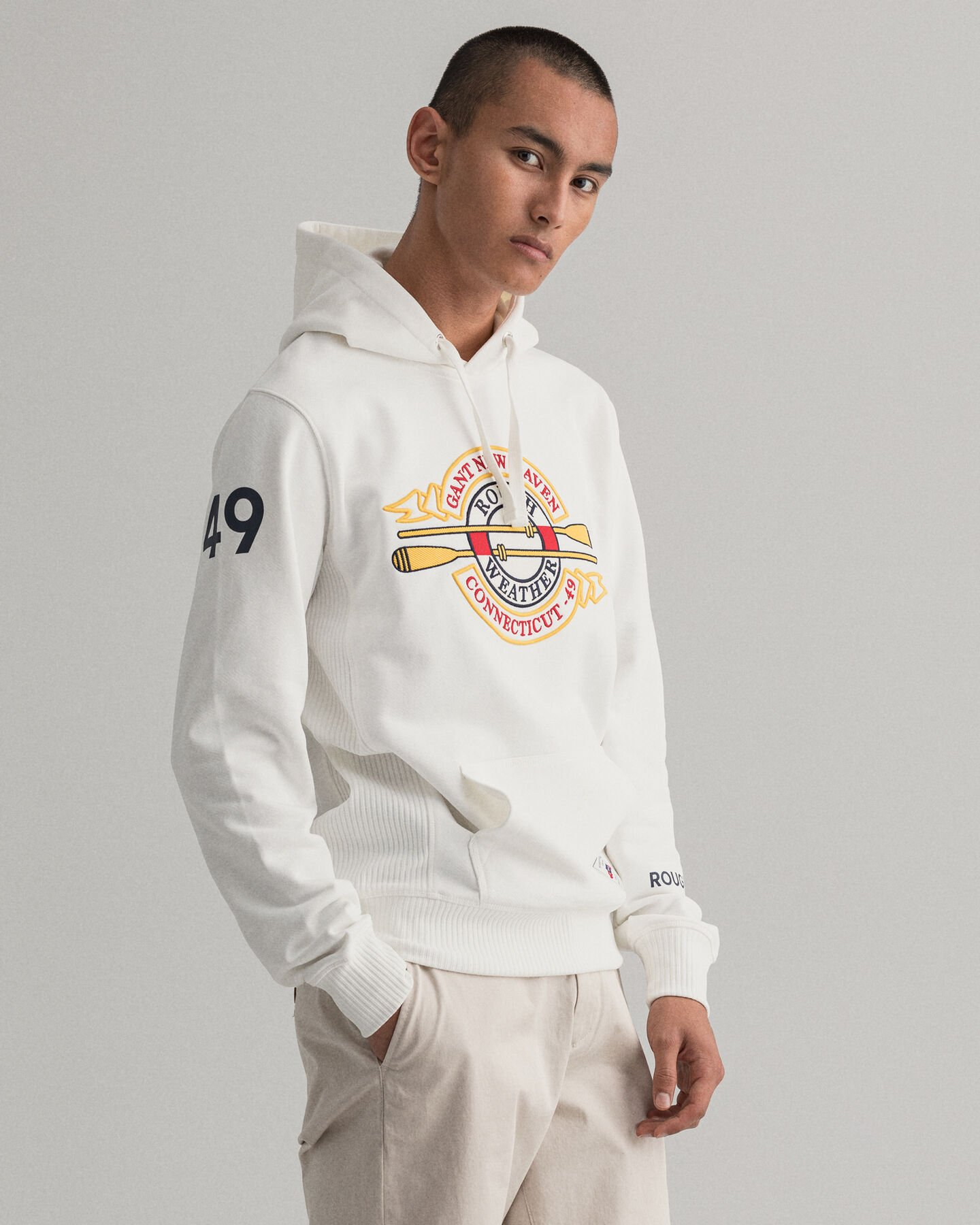 Rough Weather Graphic hoodie