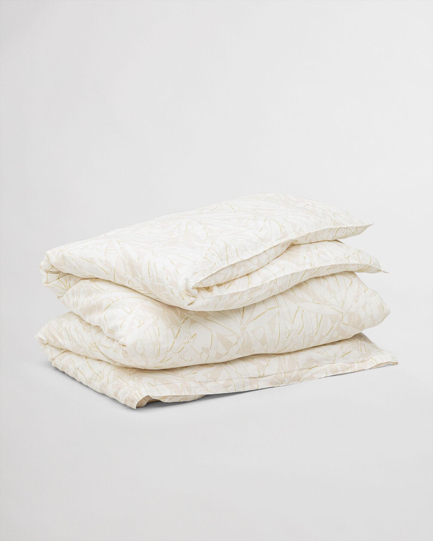 Grow påslakan i bomull och linne, dubbel