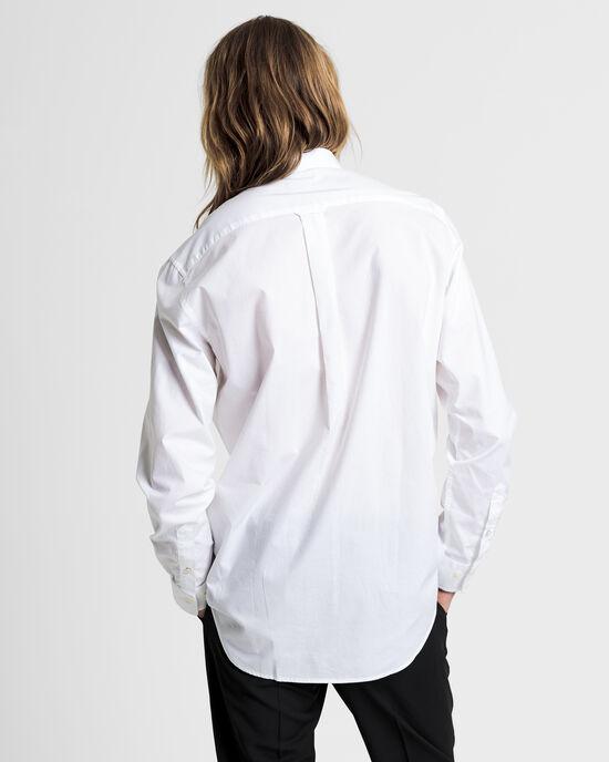 Regular fit poplinskjorta