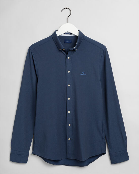 Slim Fit Tech Prep™ pikéskjorta