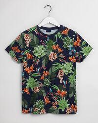Humming Garden mönstrad T-shirt