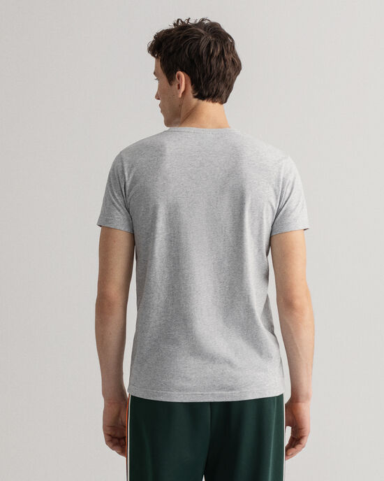 Original Slim Fit V-ringad T-shirt