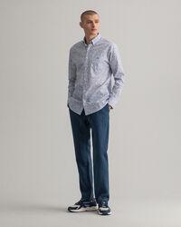 Regular fit Freedom Flower mönstrad skjorta