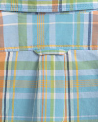 Baby Boy madrasrutig skjorta