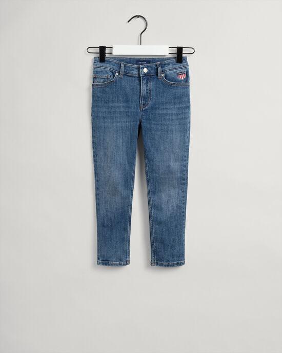 Boys Retro Shield jeans