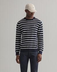 Breton Stripe Crew Neck Sweater
