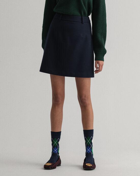 Minikjol i jersey