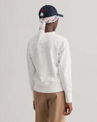 Retro Shield sweatshirt med rund halsringning