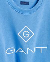 Logo rundhalsad sweatshirt
