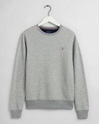 Original sweatshirt med rund halsringning