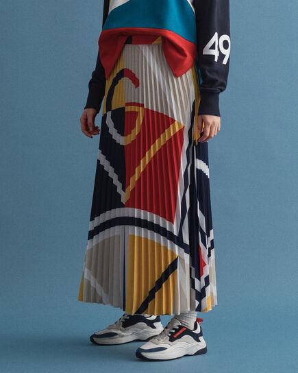 Blockfärgad Iconic G-kjol