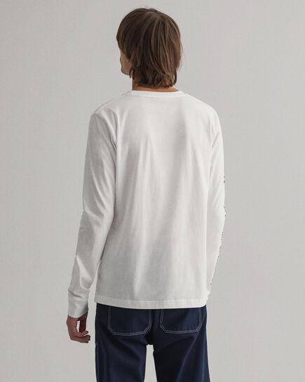 Nautical långärmad T-shirt