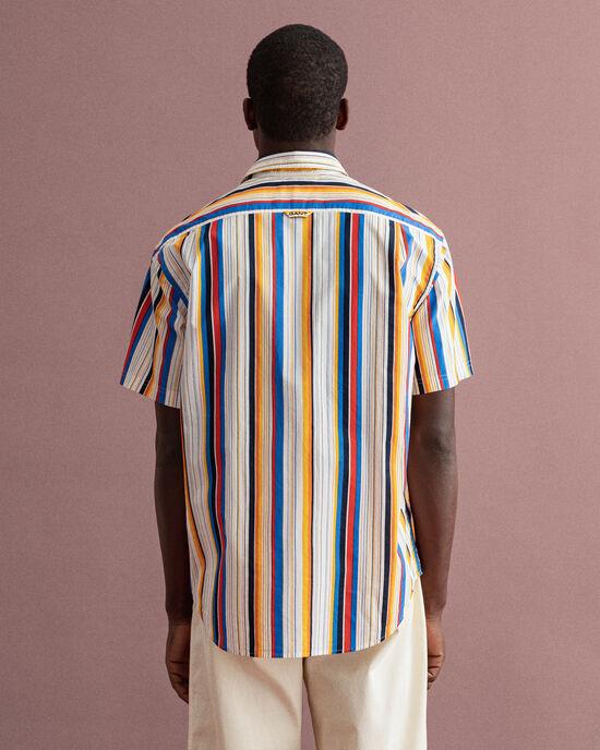 Relaxed fit Bold randig skjorta
