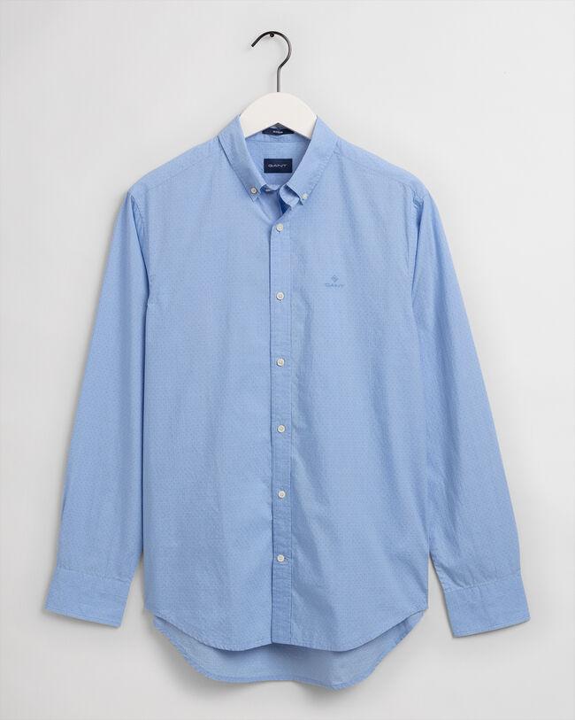 Regular Fit Dot Structure Shirt