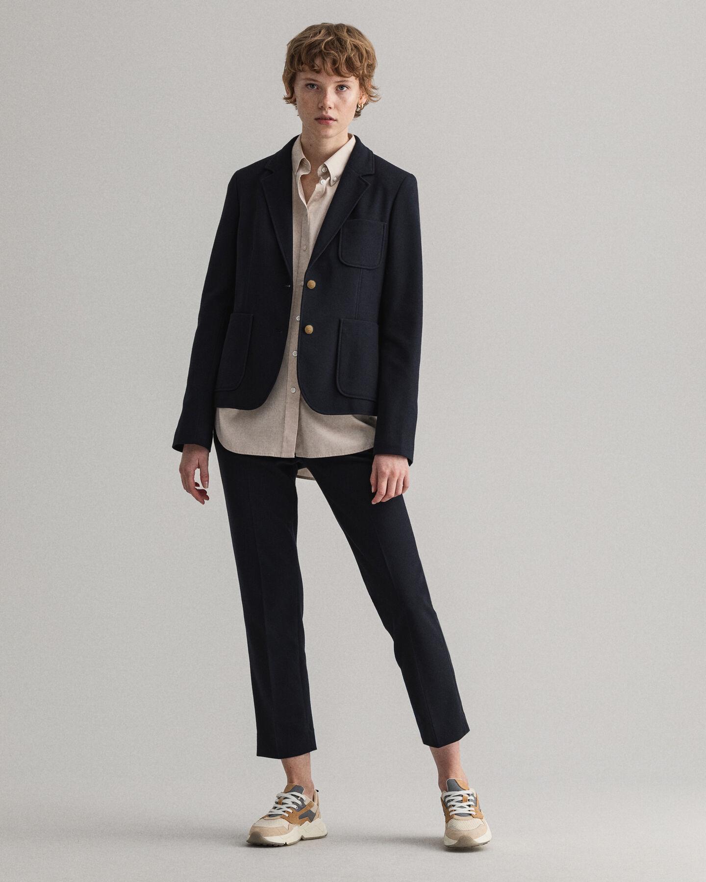 Slim Fit Tech Prep™ blazer i pikéjersey