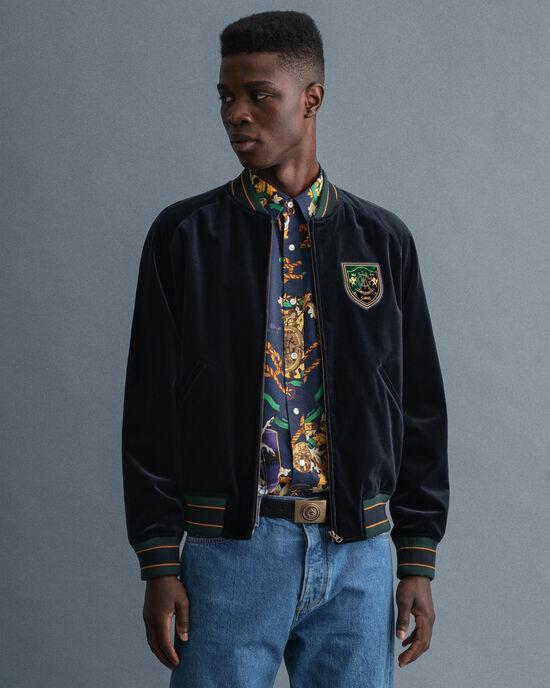 GANT Varsity Jacket i sammet