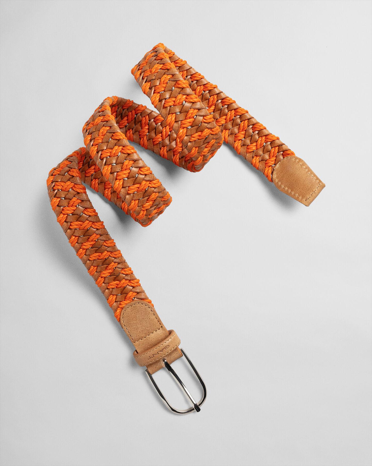 Rope flätat skinnbälte