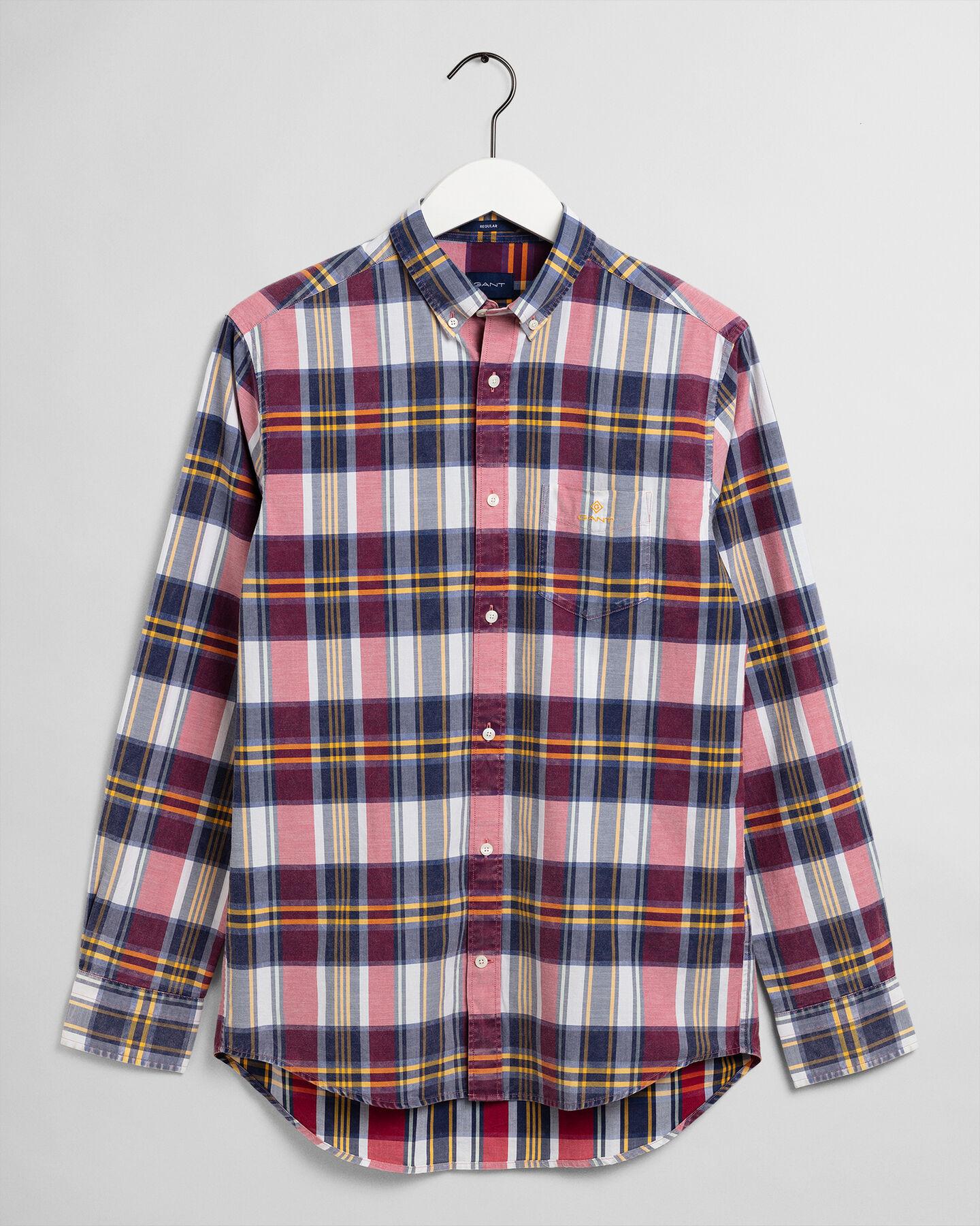 Regular fit Bold rutig skjorta