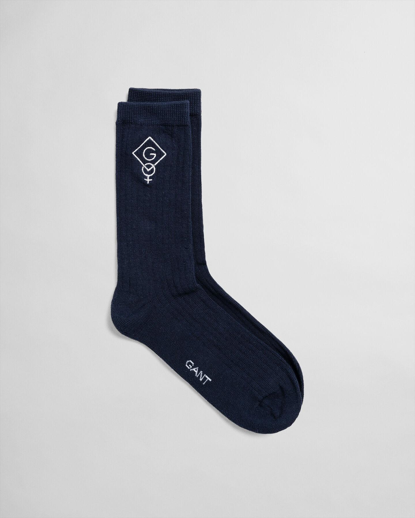 Graphic Logo Socks