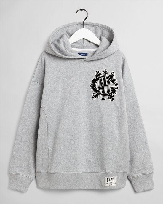Teens Monogram hoodie