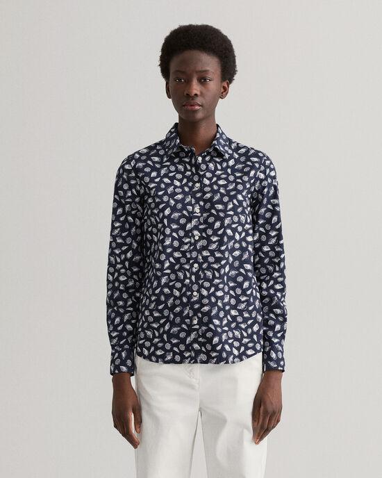 Regular fit Shell mönstrad skjorta
