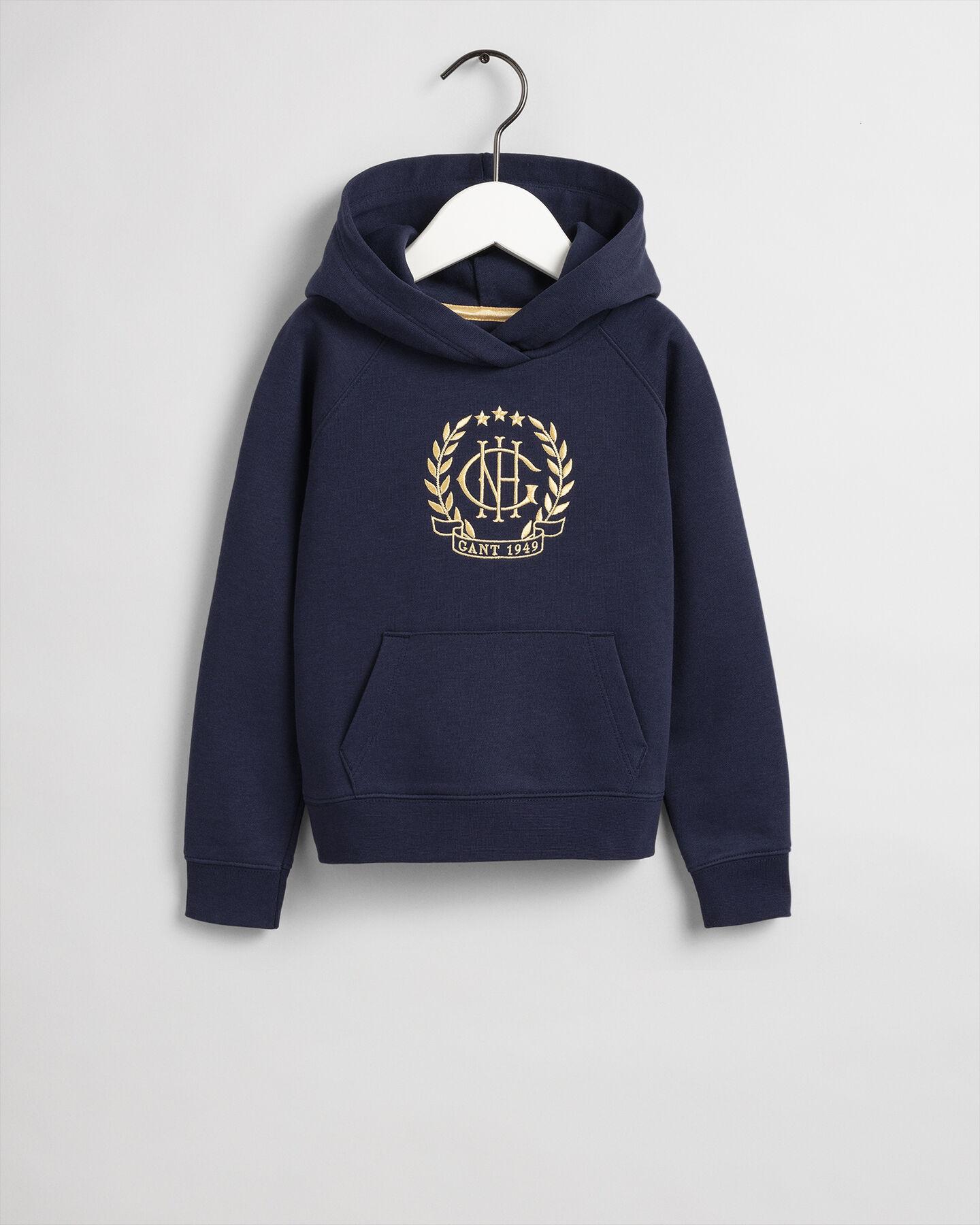Girls Monogram hoodie