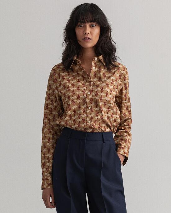 Knot mönstrad skjorta