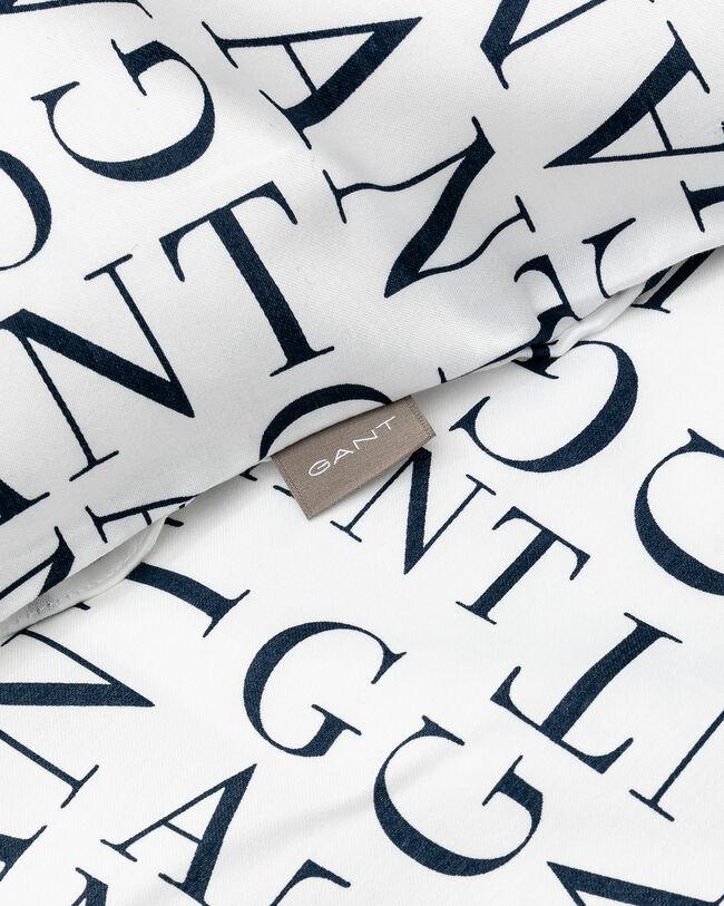 Letter mönstrat påslakanset, enkel