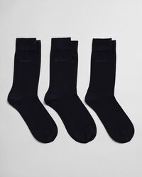 3-Pack Mercerized Cotton Socks