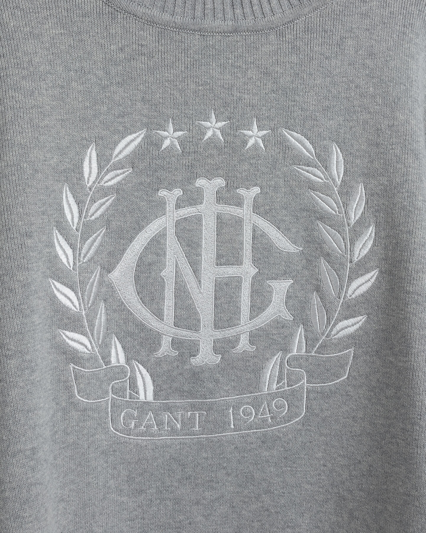 Teen Girls Monogram rundhalsad tröja