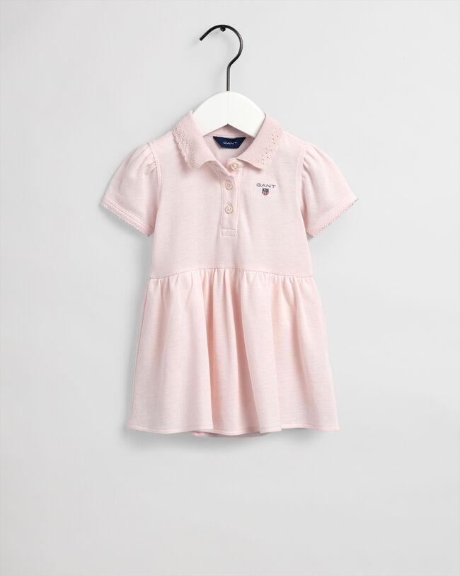 Baby Girl Ruggerklänning i piké