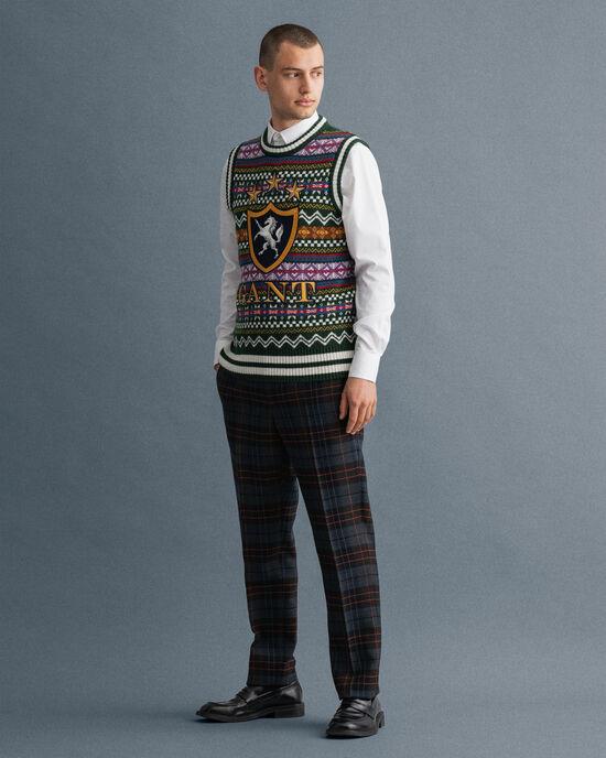 Holiday rutiga kostymbyxor