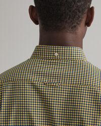 Slim Fit 2-Color Gingham Broadcloth Shirt